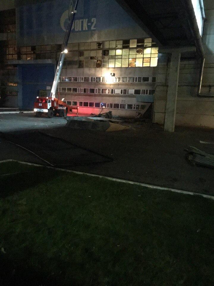 Опубликовано видео момента взрыва на Рязанской ГРЭС