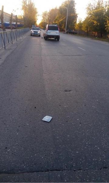 Несовершеннолетний мотоциклист пострадал в ДТП на улице Связи в Рязани