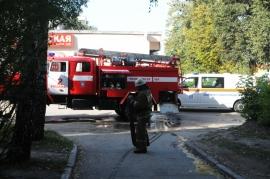 Пожар на Новоселов — загорелась квартира в пятиэтажке. Пострадал пенсионер