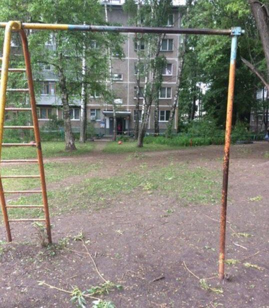 В администрации прокомментировали просьбу рязанцев сделать детскую площадку