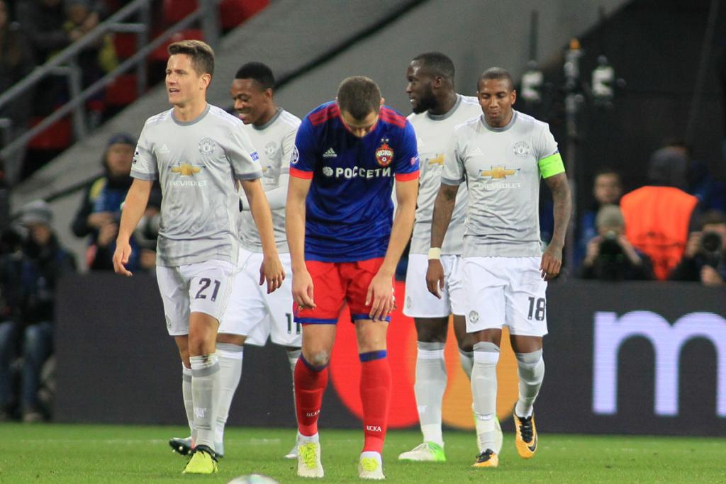 Рязанский футболист забил в Лиге Чемпионов в ворота Манчестер Юнайтед