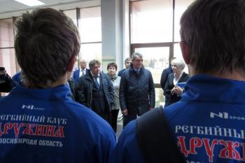 Награду президента РФ Сергей Меняйло вручил в Бердске экс-директору БЭМЗа