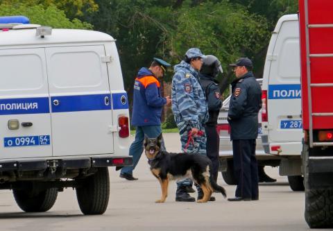 Из-за телефонного террора в Бердске эвакуировали 351 человека