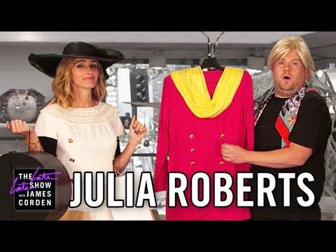 Джулия Робертс показала пародии на сыгранные ею роли. Видео