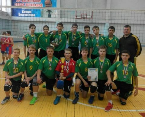 Бердские волейболисты «серебром» открыли соревновательный сезон