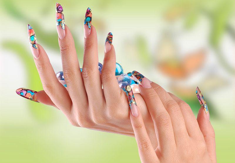 Лучшие материалы для дизайна ваших ногтей