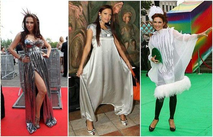 10 российских знаменитостей, выбирающих самые нелепые наряды