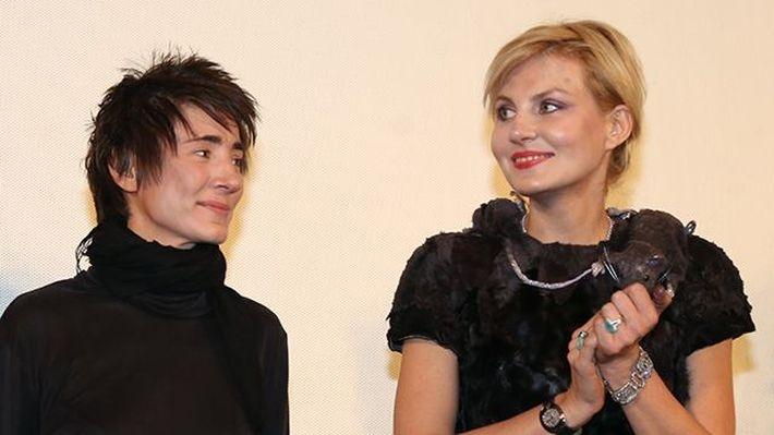 Рената Литвинова и Земфира поженились в Европе