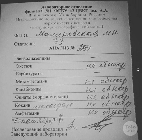 Маша Малиновская дала ответ обвиняющим ее в наркозависимости. Фото