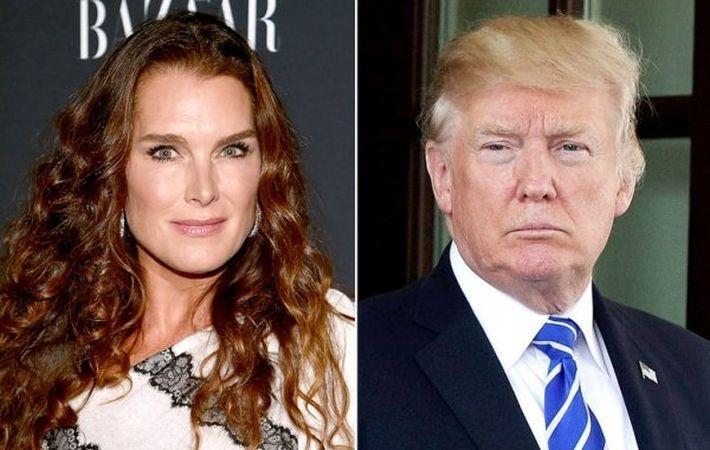 Актриса Брук Шилдс рассказала о неприличном предложении Дональда Трампа