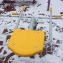 В парке им. Коротеева в Искитиме установили новые уличные тренажёры