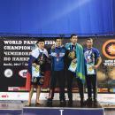 На чемпионате мира по панкратиону в Сочи успешно выступил борец из Бердска