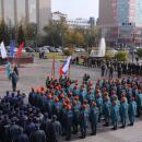 В Новосибирске отметили 85-летие гражданской обороны