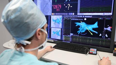 500-й пациент с аритмией сердца прооперирован роботом в Академгородке