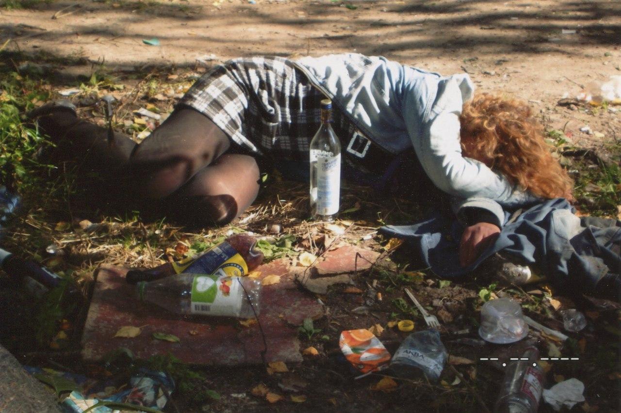 Печальный репортаж — осенью в Рязани падают не только листья