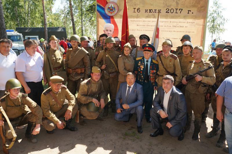 Андрей Никулин из Бердска награжден за реконструкцию подвига Героя СССР