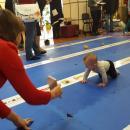Малыши Бердска сразились в гонке ползунков