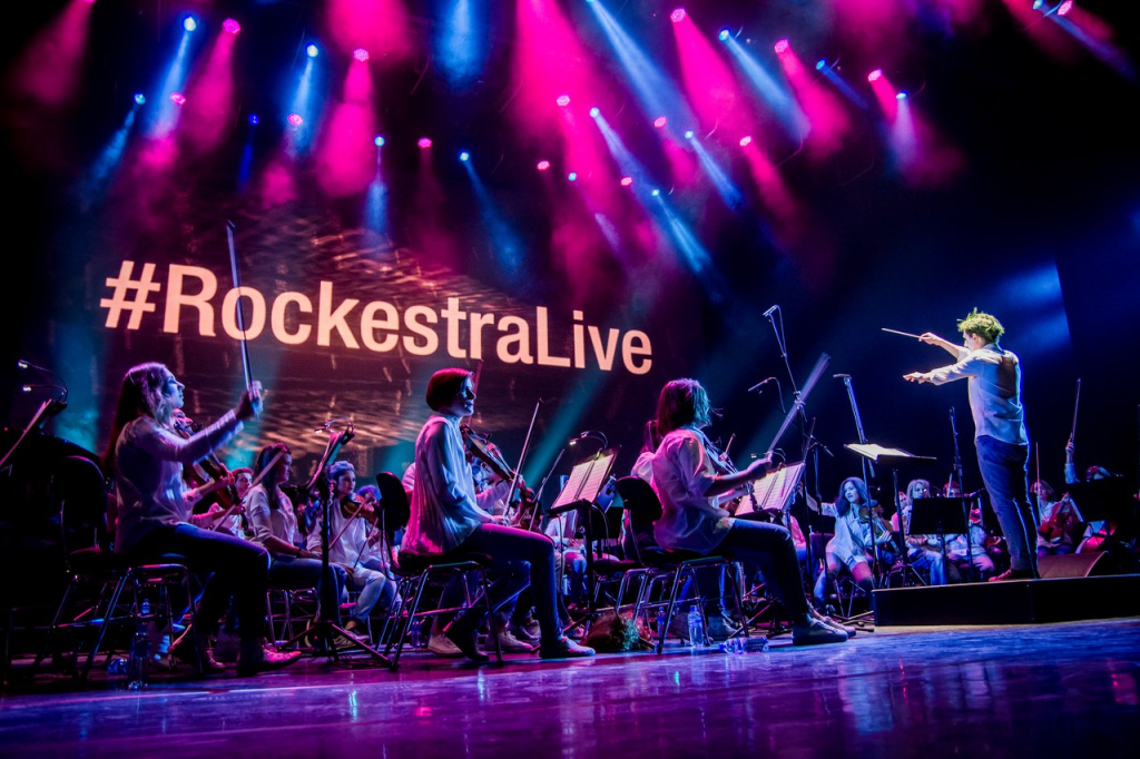 Оркестр «RockestraLive» готовит выступление в Рязани
