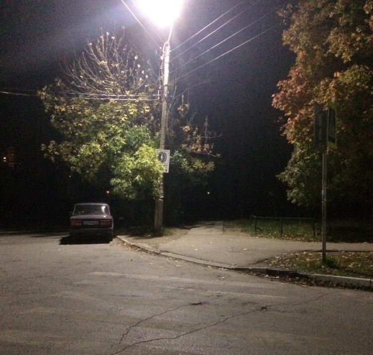 Московский район в полутьме: на улице Новаторов нет освещения