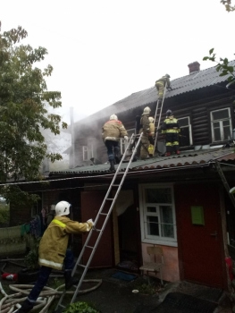 Пожар в центре Рязани — погиб мужчина, пострадала 81-летняя женщина