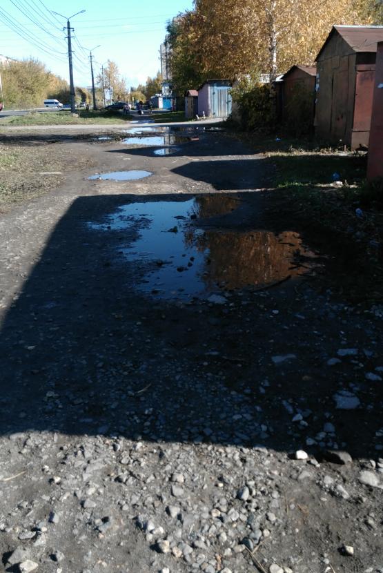 Рязанцы жалуются на разбитую дорогу на Станкозаводской