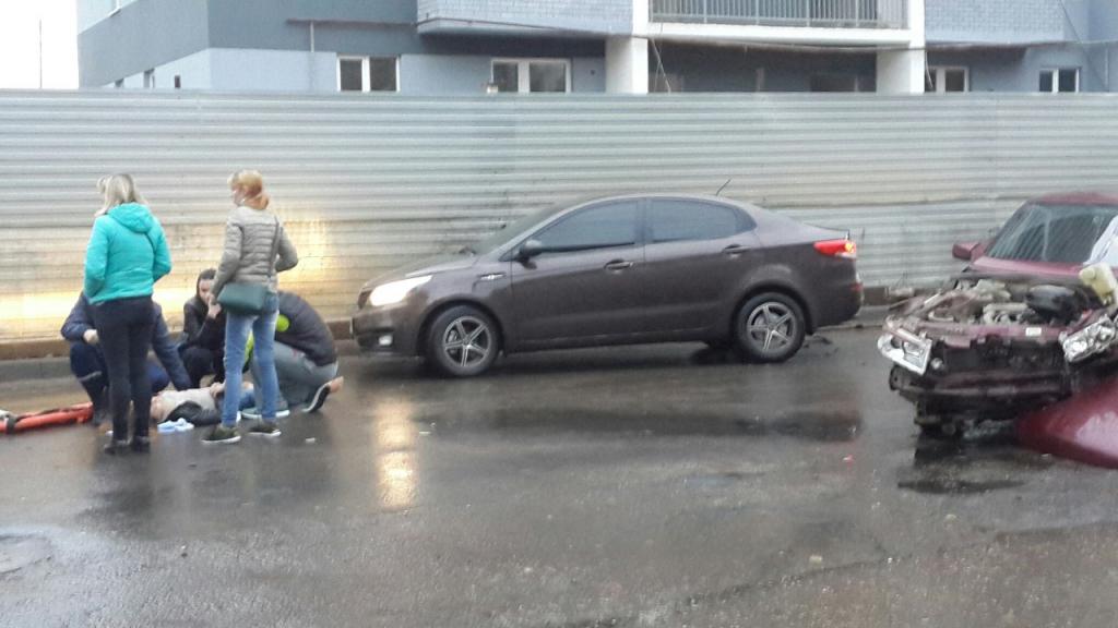 Серьезное ДТП на улице Бирюза в Рязани - подробности от очевидцев