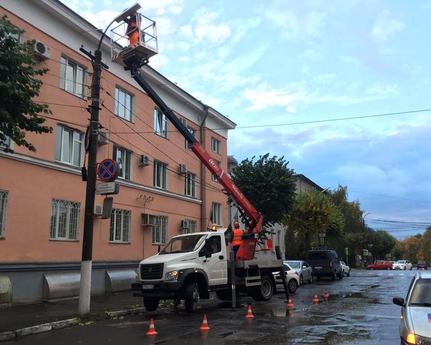 Администрация занялась уличным освещением после «прямой линии» с Любимовым