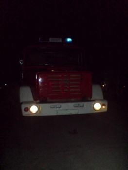 В Рязани на улице Бирюзова сгорел автомобиль