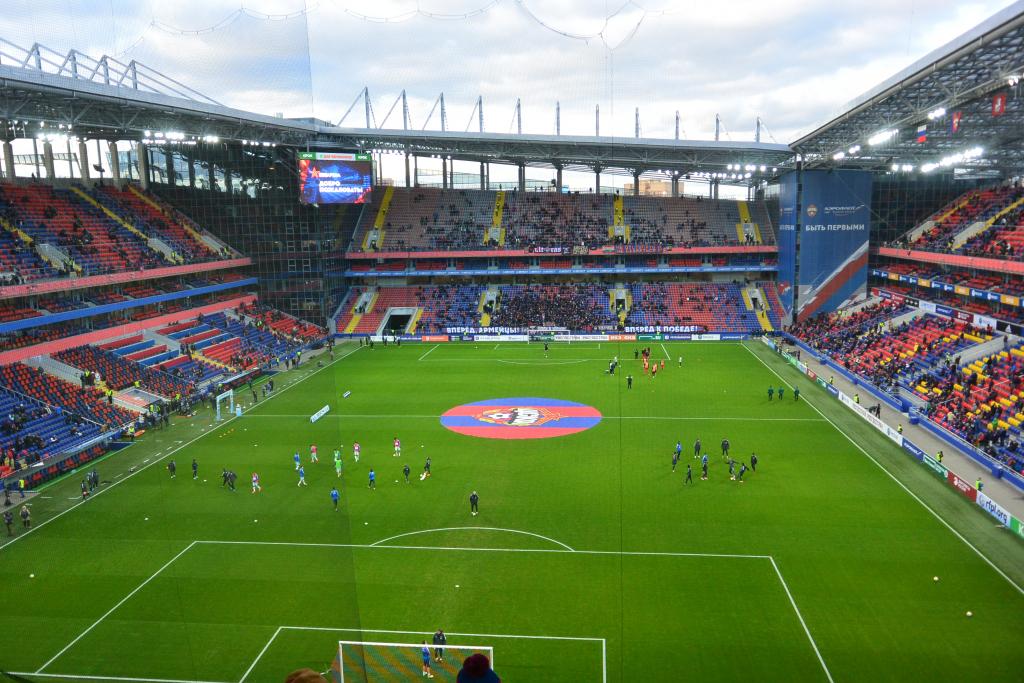 Как прошел главный футбольный матч полугодия. Репортаж со стадиона ЦСКА