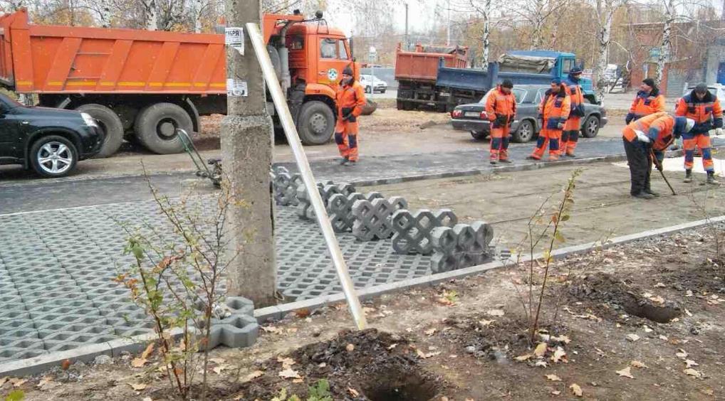 В Рязани появилась первая экопарковка