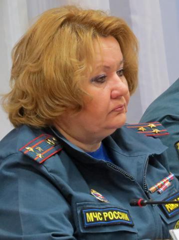 Скончалась единственная женщина-полковник МЧС в Новосибирской области Людмила Рожко
