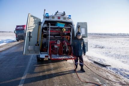 Спасатели советуют водителям Бердска заранее готовиться к дальним поездкам