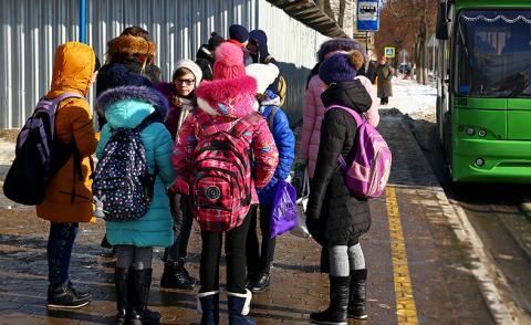 Школьников Бердска будут довозить до школы №10 из Северного микрорайона