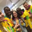 Трое бердчан передали привет Путину на всемирном фестивале в Сочи