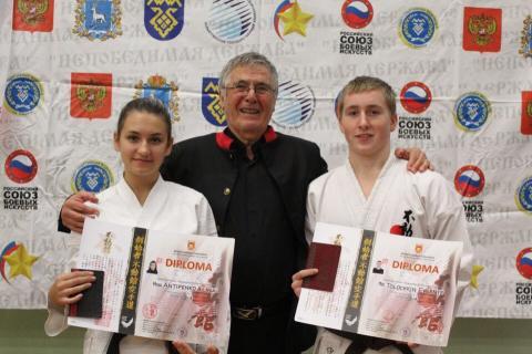 15 медалей из Тольятти привезли каратисты бердского клуба традиционного каратэ-до