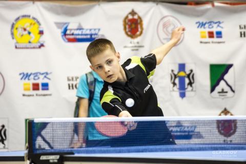 Теннисист из Бердска занял шестое место в региональном турнире в Хакасии