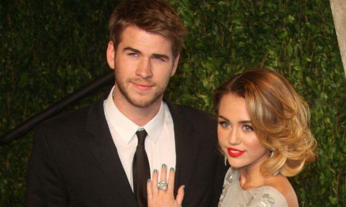 СМИ сообщили о тайной свадьбе Майли Сайрус и звезды «Голодных игр» Лиама Хемсворта