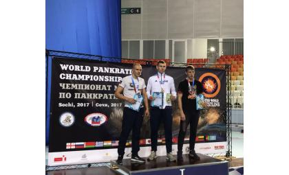 Борец из Бердска завоевал «серебро» Чемпионата мира в Сочи