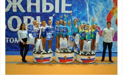 Бердск получил «серебро» по спортивной аэробике в Томске