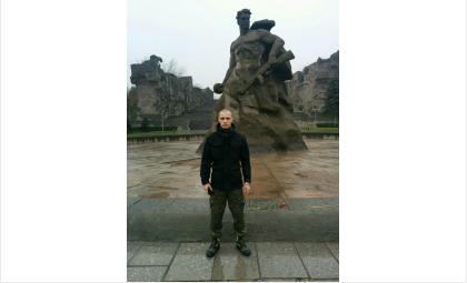 В закрытии «Вахты памяти» в Волгограде участвует бердчанин Алексей Батенев