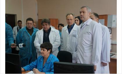 Бердскому «Сиббиофарму» обещал поддержку Андрей Травников
