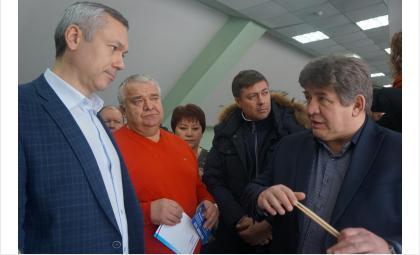 Реконструкцию манежа «Авангарда» и регбийного поля в Бердске поддержал Травников