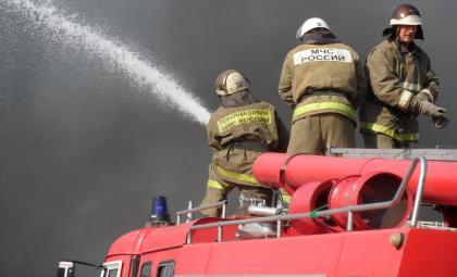 Из-за короткого замыкания автоматики горел частный дом в Бердске