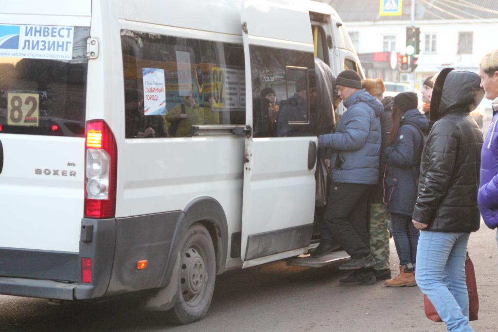 Общественный транспорт Рязани работает не для пассажиров