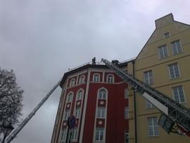 Пожар в гостинице «Старый Город» - причины и все подробности произошедшего