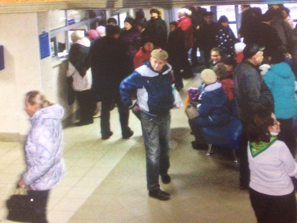 Рязанцам приходится два часа стоять в очереди в Пенсионном фонде
