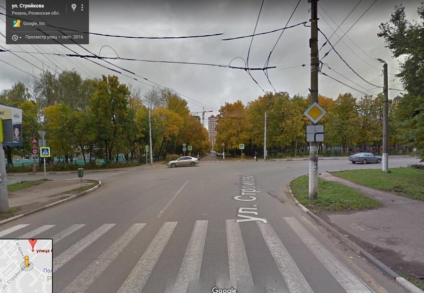 Рязанка пожаловалась на отсутствие светофора около 34 школы