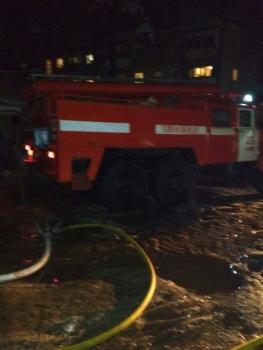 В Касимове произошел серьезный пожар в жилом доме