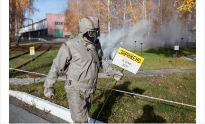 МЧС поздравляет военнослужащих войск радиационной, химической и биологической защиты
