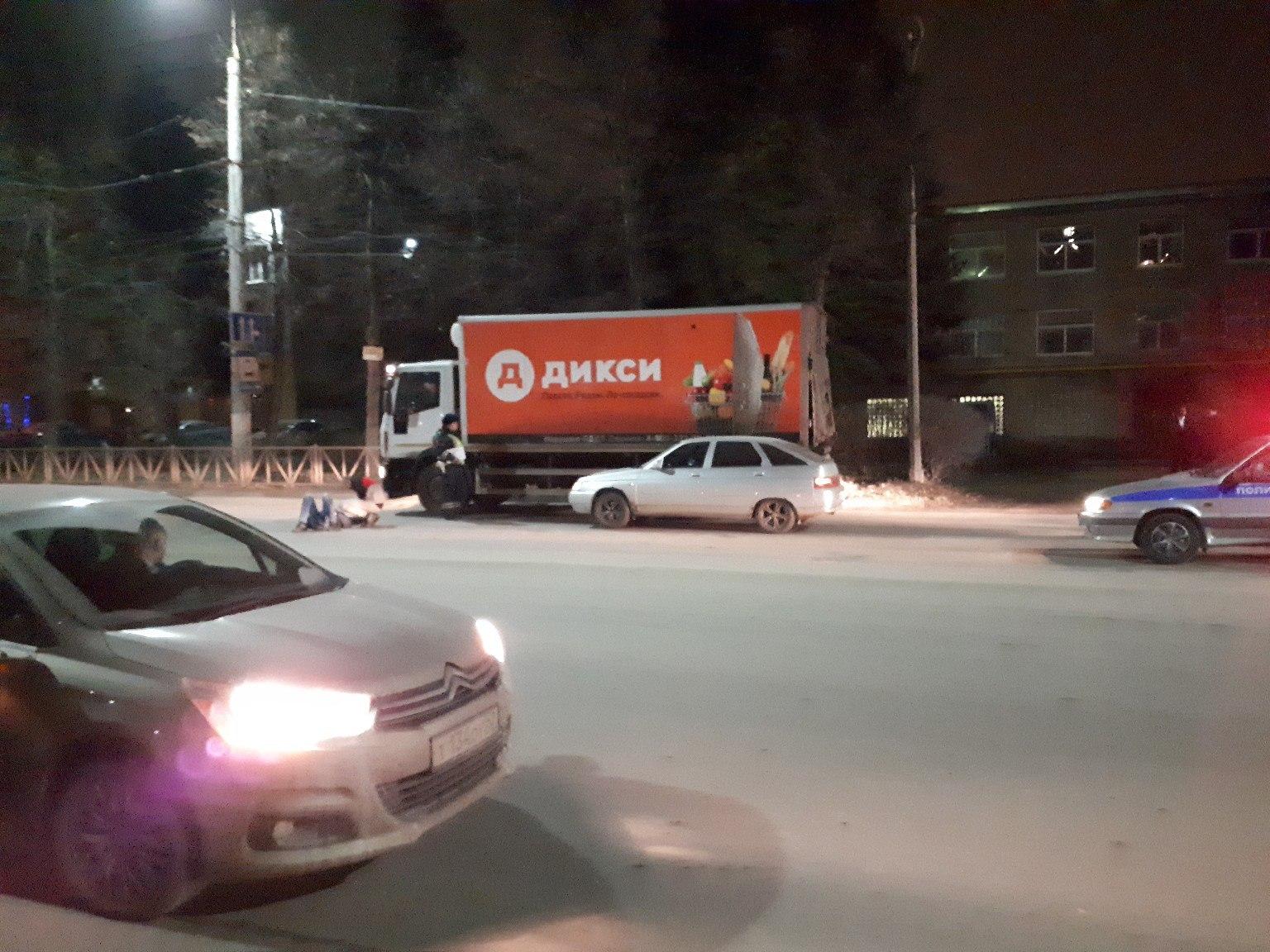 На проезде Шабулина рязанец попал под колеса автомобиля